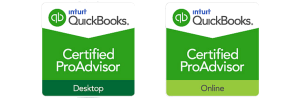 Quickbooks Certified ProAdvisor Online and Desktop