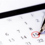 IRS Calendar